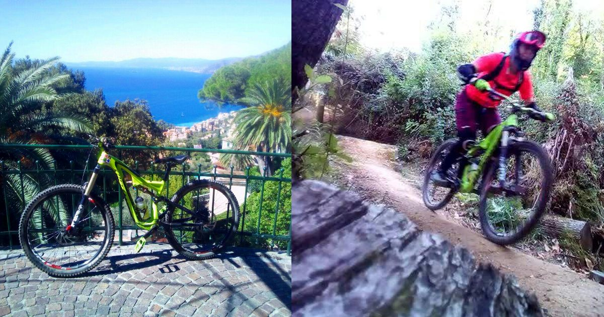 Surf & MTB in Liguria …