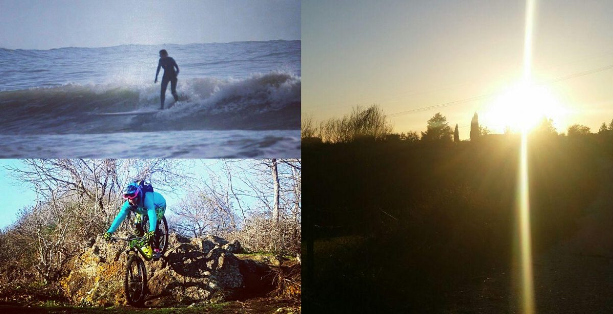 Surf + MTB .. Lucida Follia …