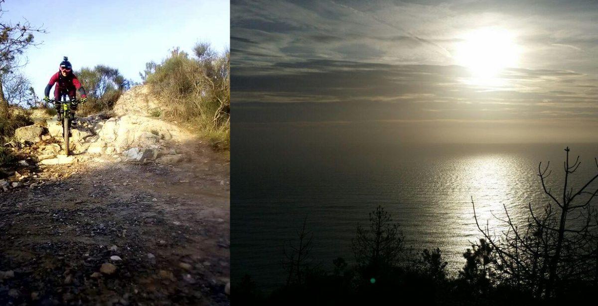 MTB: Sestri sentiero sant'anna Video