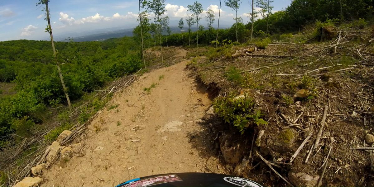 MTB Video trail blog – La Faggeta – Albivio