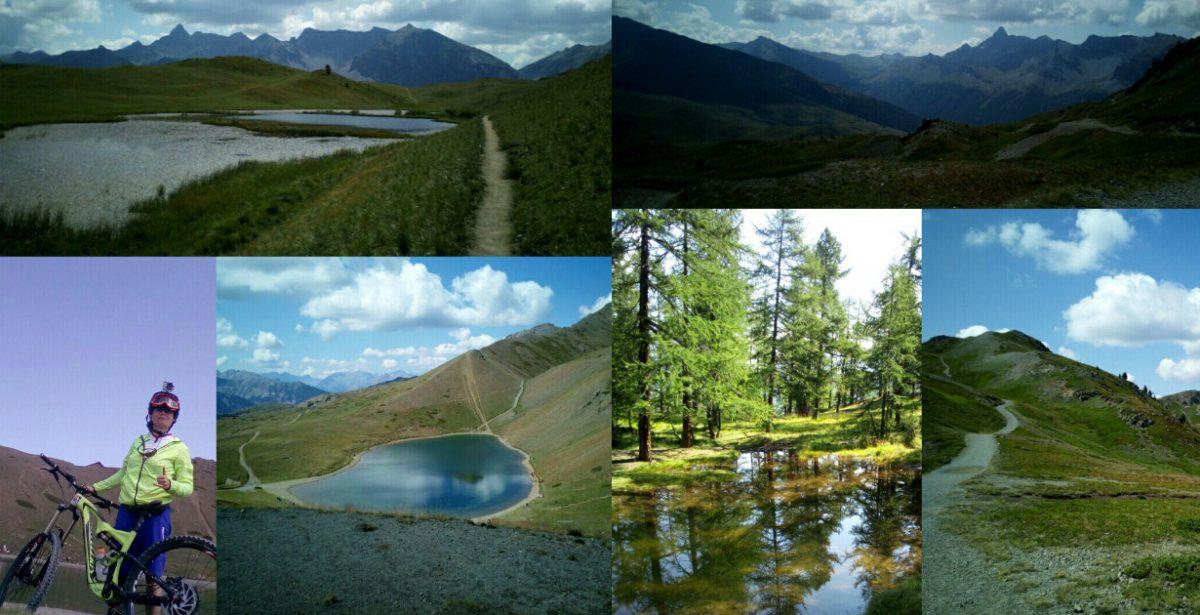 Col Saurel e lago dei 7 colori da Sagnalonga