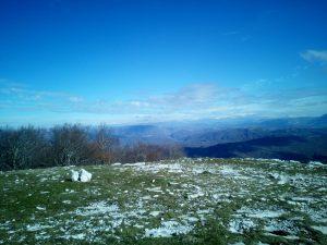 Snow far