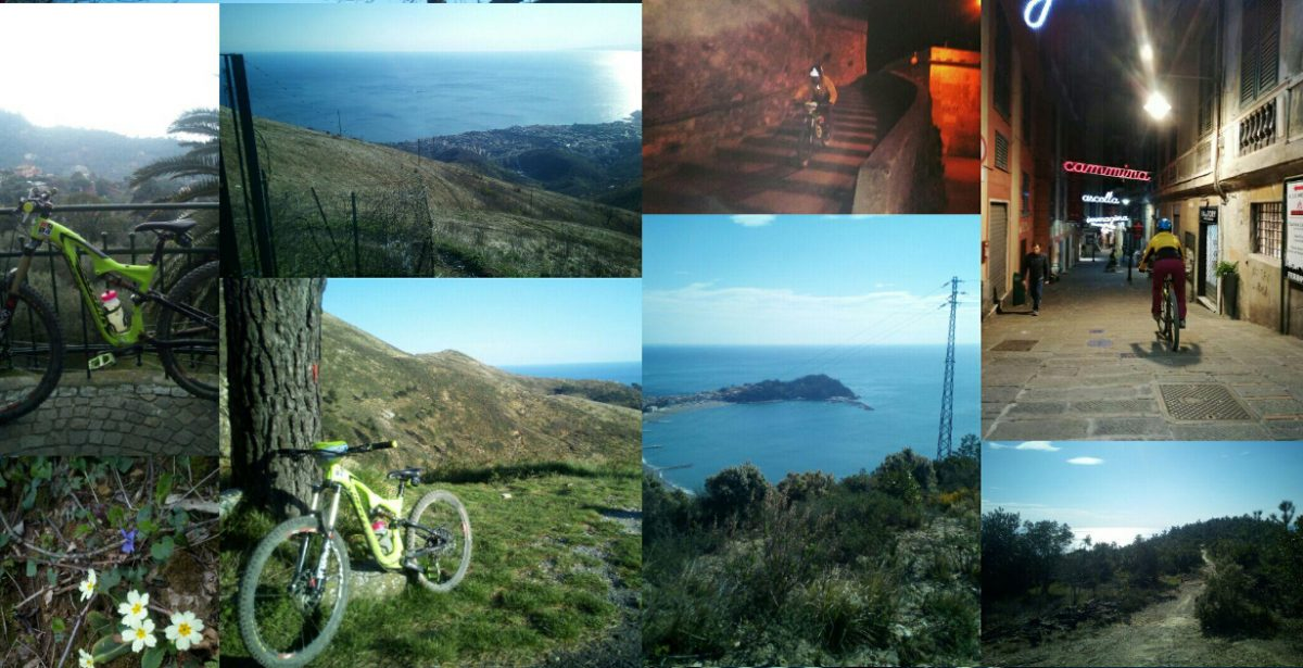 MTB Liguria break Marzo 2018