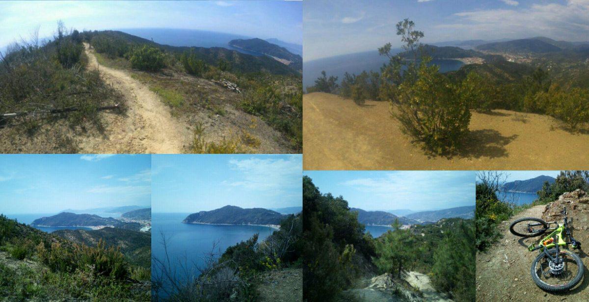 MTB Riva Trigoso Punta baffe – U turiun