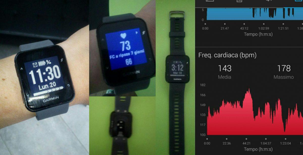 Test Garmin Forerunner 30 cardio da polso + GPS