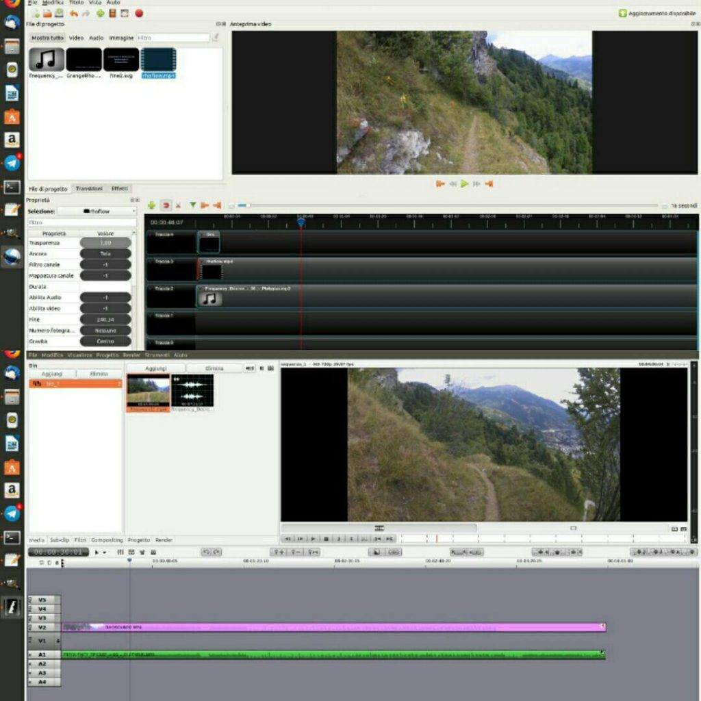 video edit linux