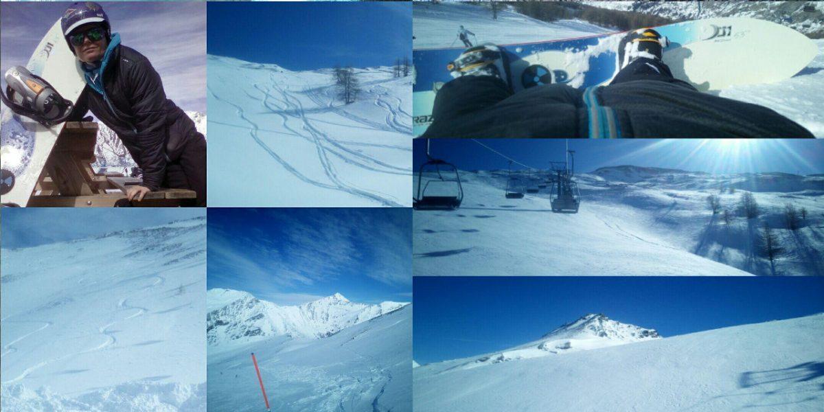 Snowboard: Powder sul BAN con la Dupraz D1